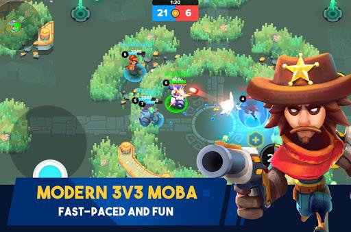 Heroes Strike - Brawl Shooting Multiple Game Modes apktram screenshots 2