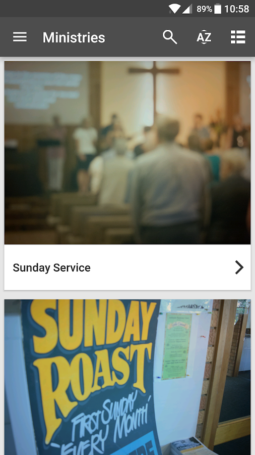 Blackwood Church of Christ- screenshot
