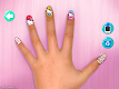 screenshot of Hello Kitty Nail Salon