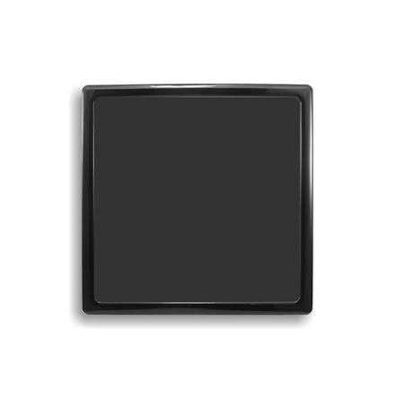 DEMCiflex magnetisk filter 230mm, firkantet, sort