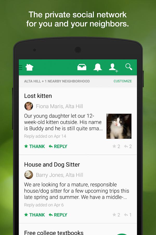 Nextdoor - screenshot