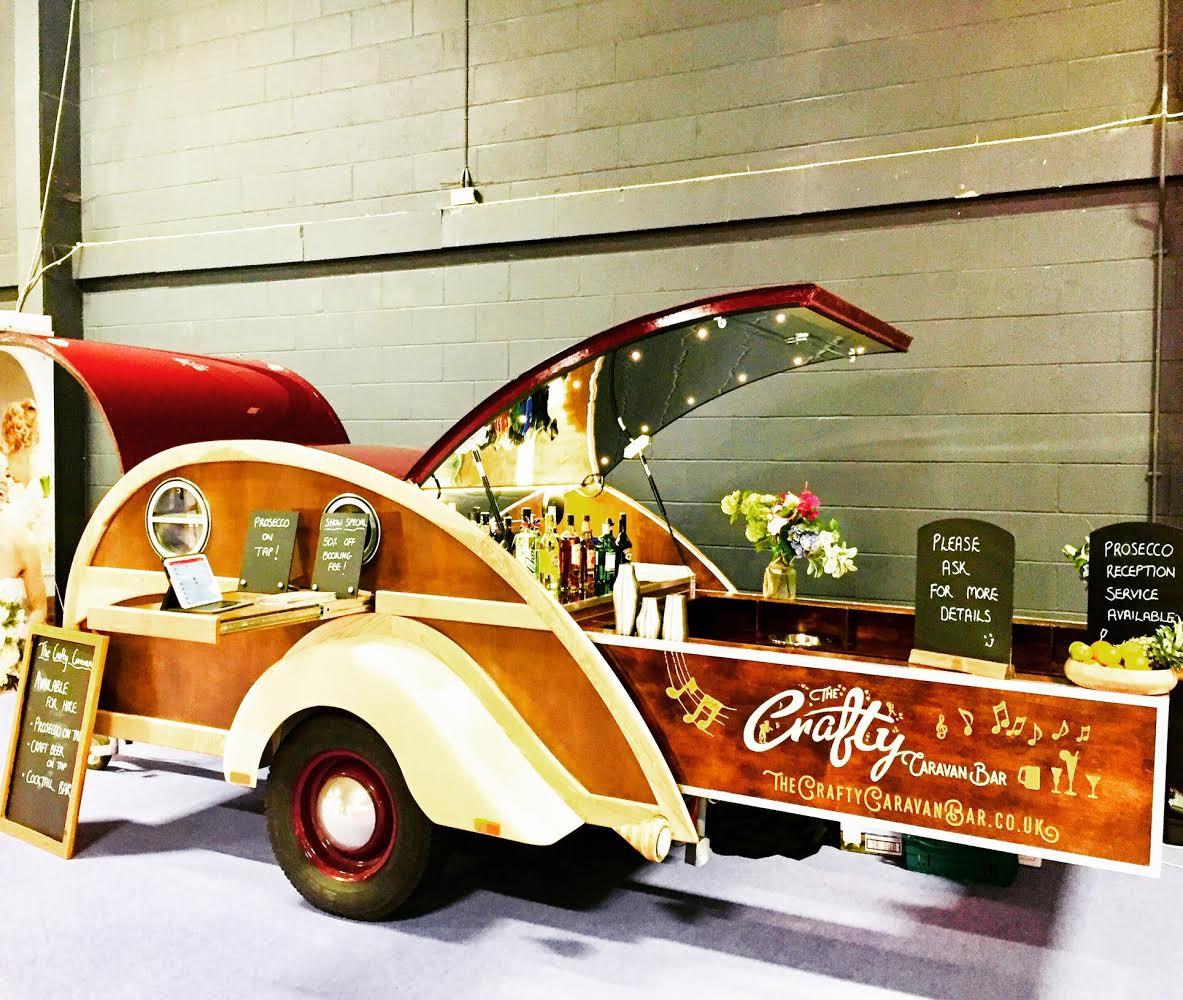 Crafty Caravan Teardrop Hire London