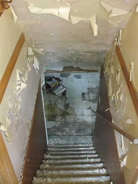 Photo: It looks like someone was in the middle of a rehab, doesn't it? They weren't. This was a bank-owned property, and the whole house looked like this.