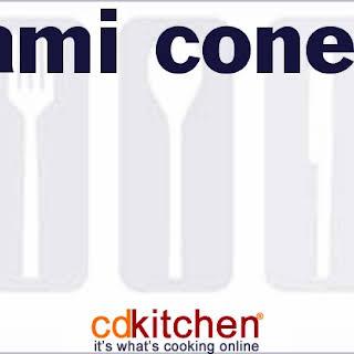 Salami Cones.