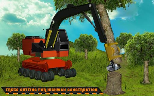 Highway Construction Road Builder 2019- Free Games 2 screenshots 5