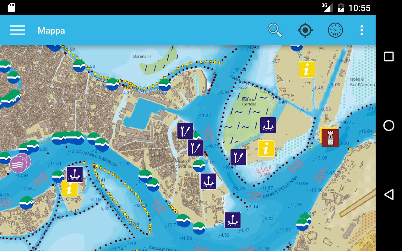 Carta Della Laguna Di Venezia App Android Su Google Play