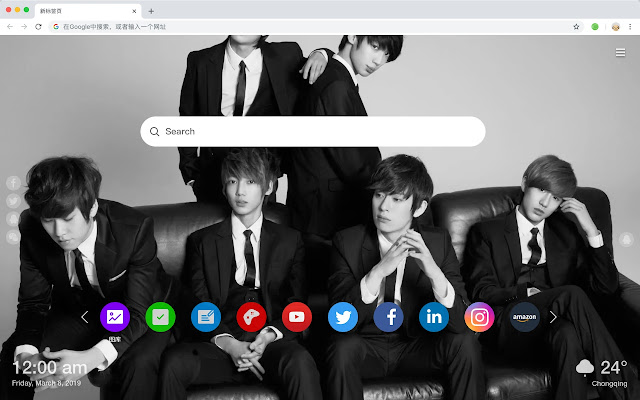 Kpop HD Wallpapers New Tabs Pop Music Themes
