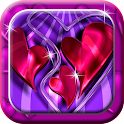 Cute Hearts LWP icon