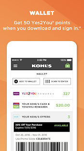 Kohls Scan Shop Pay Save Apps On Google Play - Invoice app for android free gucci outlet store online