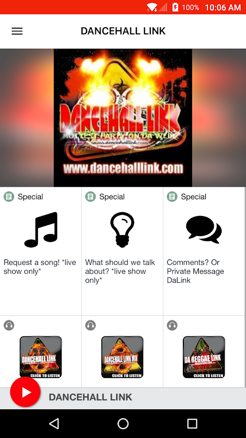 DANCEHALL LINK- screenshot