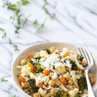 Roasted Fennel and Israeli Cous Cous Salad Recipe