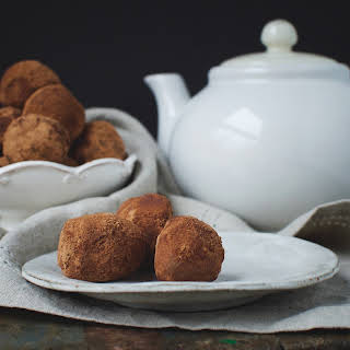 Dark Chocolate Truffles--Low-Carb.