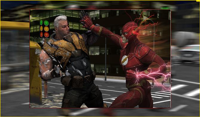 Flash Boy Hero Lightning Strike Android 15