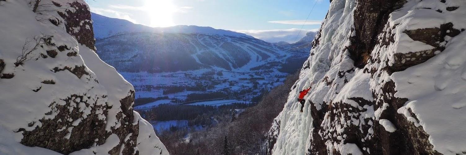 Hemsedal Ice Climbing, Norway