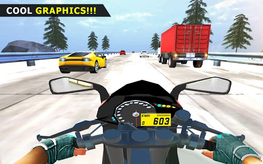 Bicyclette u00c9quitation - Extru00eame Moto Course 3D  captures d'u00e9cran 1