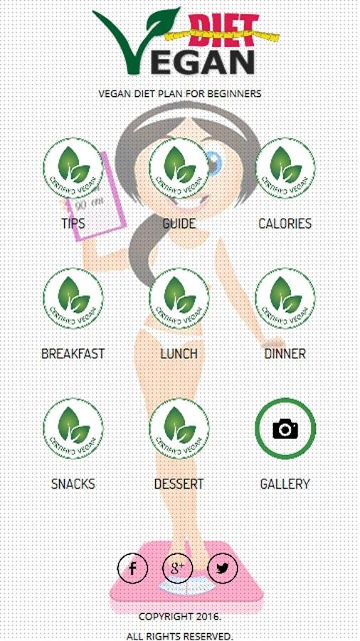 Vegan Diet Plan Screenshot