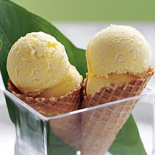 Mango Ice Cream.