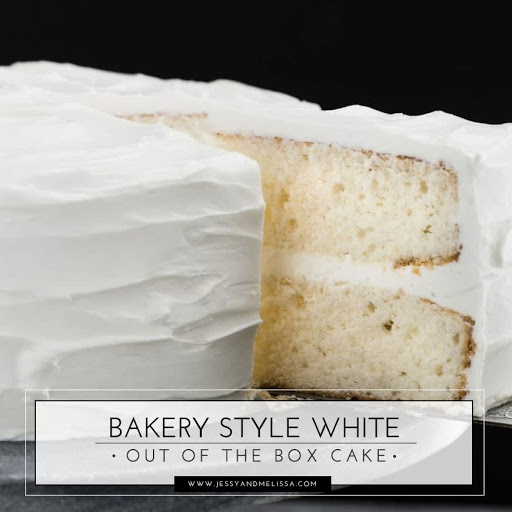Bakery Style White Out of the Box Cake