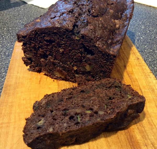 Chocolate Zucchini Loaf Recipe