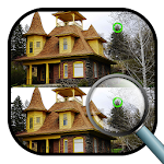 Spot the Differences: Houses Icon