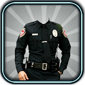 Photo Suit for Police Man