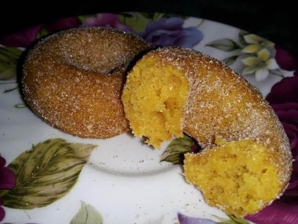 Pumpkin Mini-doughnuts Recipe