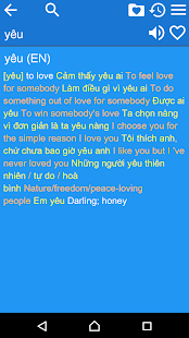 English Vietnamese Dict Free- screenshot thumbnail