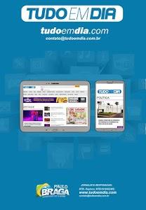 Tudo em Dia www.tudoemdia.com screenshot 1