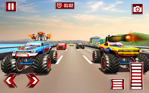 Monster Shooting Car:Highway Shooting Game for PC-Windows 7,8,10 and Mac apk screenshot 2