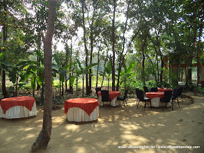 Photo: Open dining area.