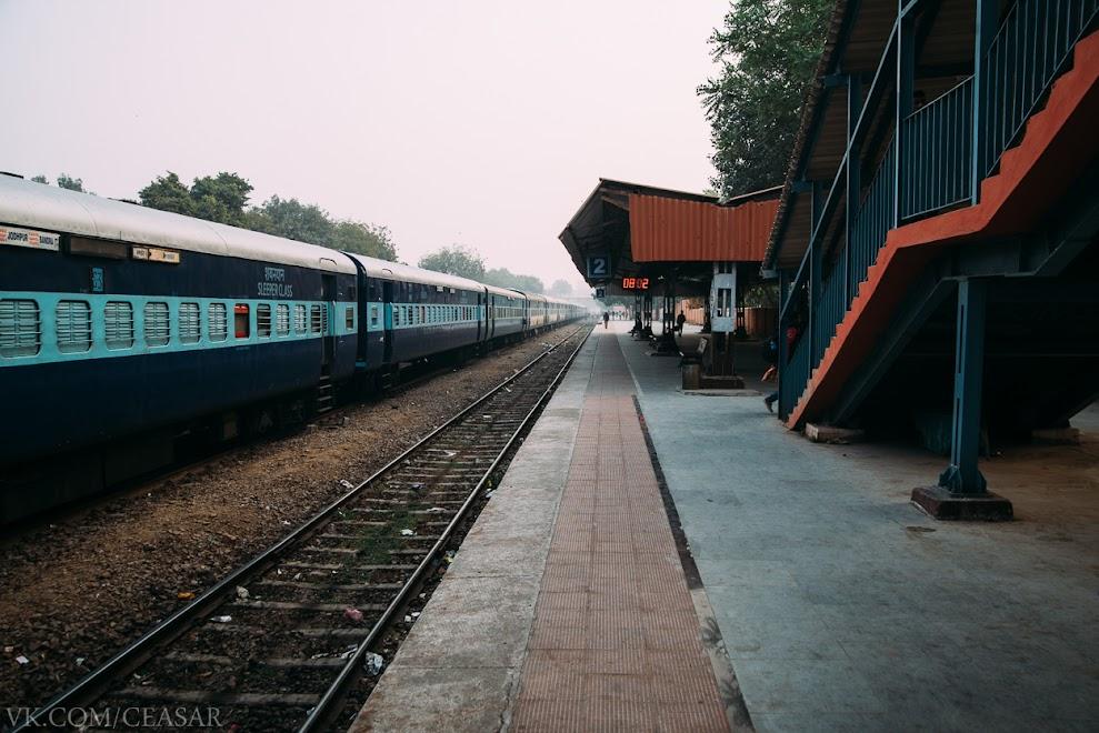Железнодорожная станция Джодхпура, Индия