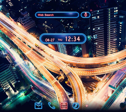 Stylish Theme Night Road 1.0.0 Windows u7528 1