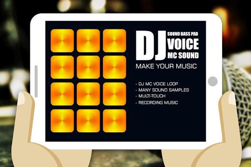 DJ는 음성 MC 사운드 패드