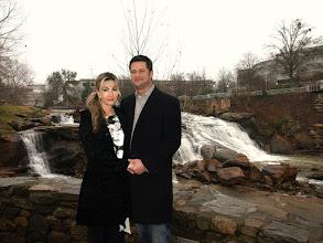 Photo: Falls Park- Reedy River - Greenville, SC -  New Years Eve      12-31-09 ~ www.WeddingWoman.net ~