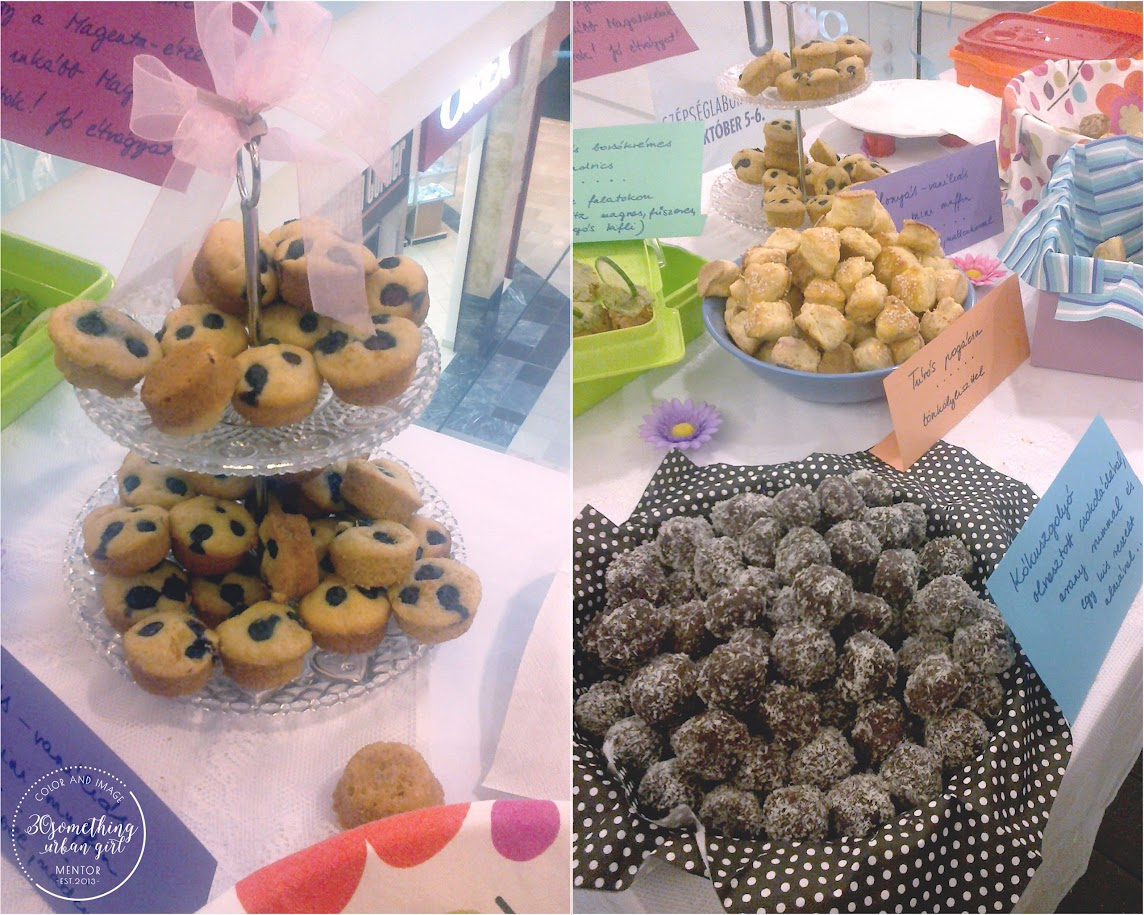 delicious snacks on the store opening of MAGENTA Budapest