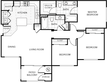 Go to Hacienda Floorplan page.