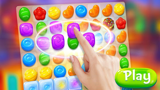 Candy Witch - Match 3 Puzzle Free Games apkdebit screenshots 16