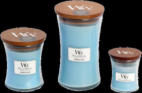 WoodWick - Paradise Blue