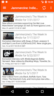 Jammerzine: Indie for Android- screenshot thumbnail