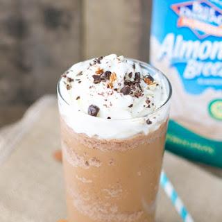 Almond Milk Mocha Frappuccino.