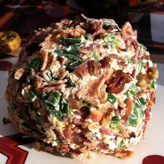 Shrimp Pecan and Bacon Cheese Ball or Log.