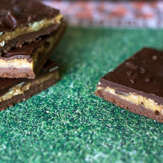 Almond Butter Chocolate Covered Espresso Bars