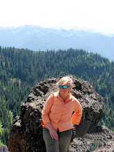 Photo: Linda at Noble Knob