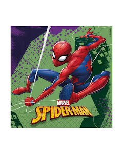 Servetter, Spiderman 20st