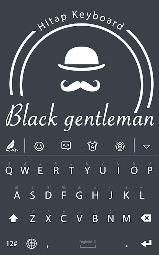 Black Gentleman HiTap Keyboard