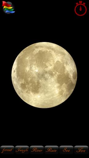 月亮小夜灯