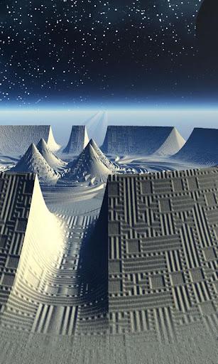 Alien Worlds Live Wallpaper screenshots 2