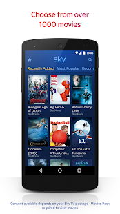 Sky Go Screenshot 2