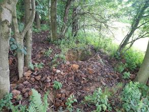 Photo: Výkopy na lokalitě.