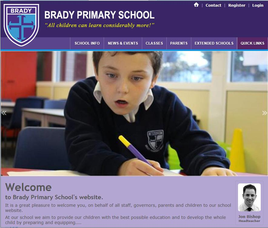 Brady Primary School App- screenshot